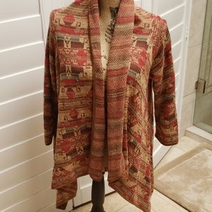 Ralph Lauren Shawl Collared Cardigan Size L